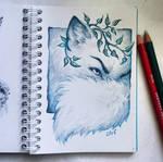 Instaart - Cunning arctic fox