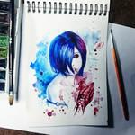 Instaart - Touka Kirishima