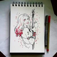 Instaart - Harley Quinn