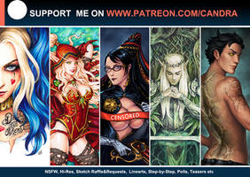 Patreon! new banner by Candra