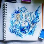 Instaart - Crystal Maiden