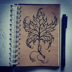 Instaart - Dry leaf by Candra