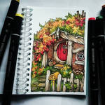 Instaart - Autumn in the Shire