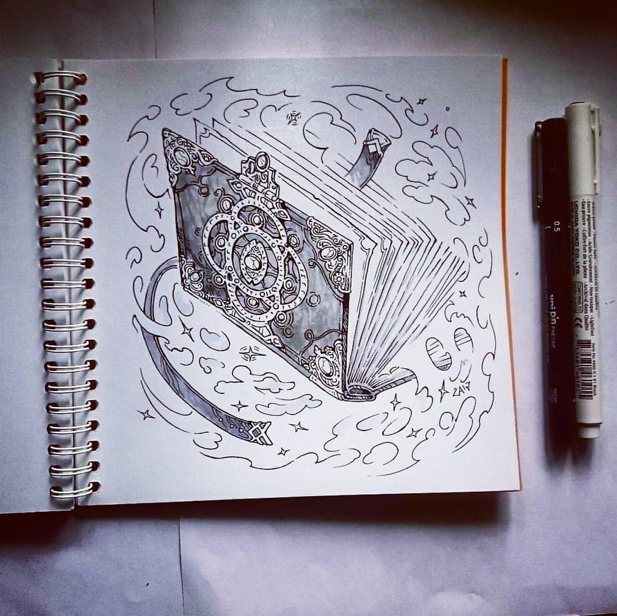 Instaart - Spellbook by Candra