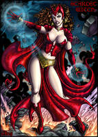 Scarlet Witch color by Candra