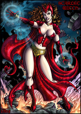 Scarlet Witch color