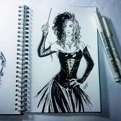Instaart - Bellatrix Lestrange