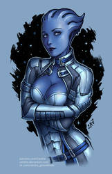 Liara (SFW version) by Candra