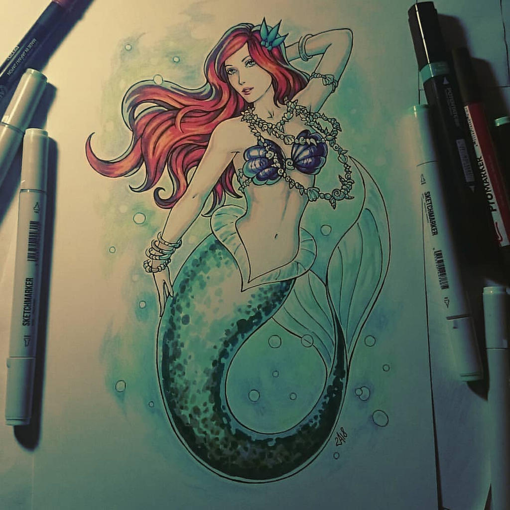 Sketchbook - Ariel by Candra