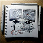 Instaart -   Rat vs AutoCAD