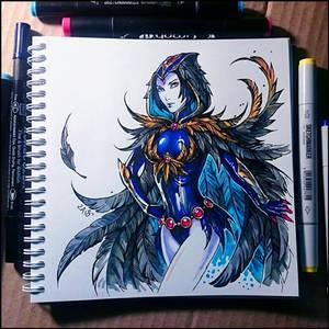 Instaart - Raven