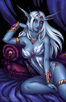 Queen Azshara (SFW) by Candra