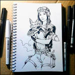 Instaart - - Doctor Aphra and Flufto