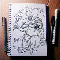 Instaart - Ivy Valentine (NSFW on Patreon) by Candra