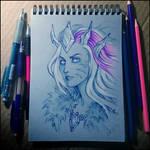 Sketchbook - Frost Lich Jaina