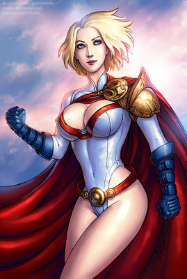 Power Girl (SFW)