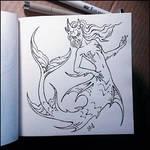 Sketchbook - Mermaid