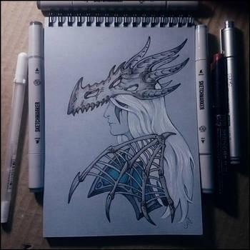 Sketchbook - Sindragosa by Candra