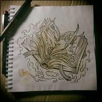 Sketchbook - Spellbook by Candra