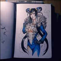 Sketchbook - Rinoa/Ultimecia