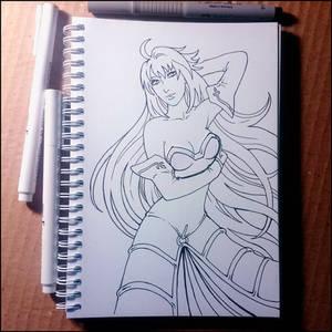 Sketchbook - Arcueid Brunestud (NSFW on Patreon)