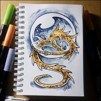 Sketchbook - Magic ball by Candra