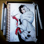 Sketchbook - Cruella De Vil