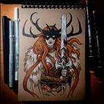 Sketchbook - Angela: Queen of Hel
