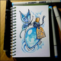 Sketchbook - Air Magic by Candra
