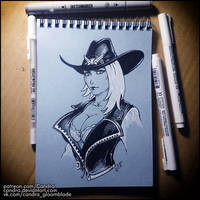 Sketchbook - Ashe by Candra