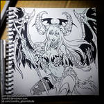 Sketchbook - Angelus (NSFW on Patreon) by Candra