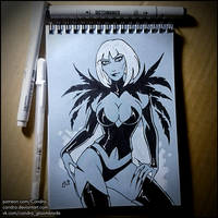 Sketchbook - Magpie by Candra