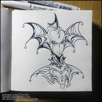 Sketchbook - Mask by Candra