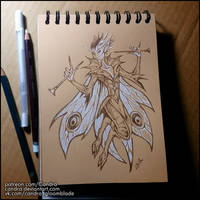 Sketchbook - Pixie by Candra