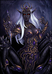 Lolth (SFW) by Candra