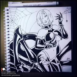 Sketchbook - Rachnera Arachnera (NSFW on Patreon) by Candra