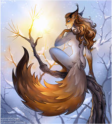 Squirrel fairy by Candra