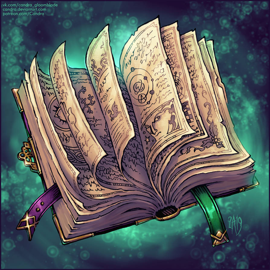Spellbook by Candra