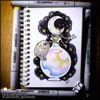 Sketchbook - Moonlight by Candra