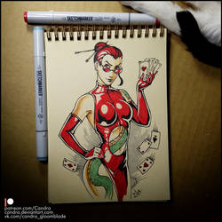 Sketchbook - Roulette by Candra