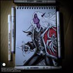 Sketchbook - Darkwing Drow