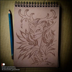 Sketchbook - Masquerade by Candra