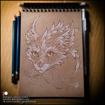 Sketchbook - Dragoncat by Candra