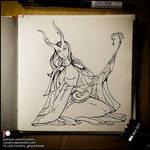 Sketchbook - Fairy Musician
