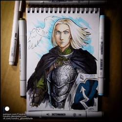 Sketchbook - Captain Valdemar Knud by Candra