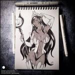 Sketchbook - Olga Discordia (NSFW on Patreon) by Candra