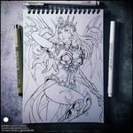 Sketchbook - Atlantic Mercy (NSFW on Patreon)
