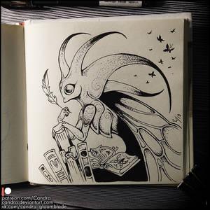 Sketchbook - Book Butterfly