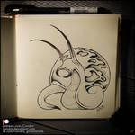 Sketchbook - Strange snail