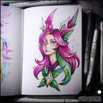 Sketchbook - Star Guardian Xayah